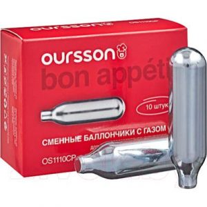 Баллончики для сифона Oursson OS1110CP/S