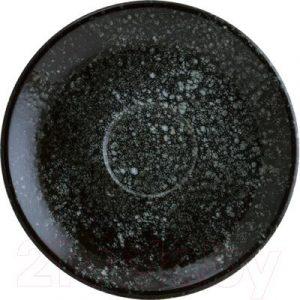 Блюдце Bonna Cosmos Black Gourmet / COSBLGRM02KT