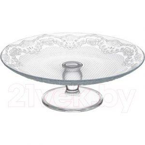 Блюдо для торта Pasabahce Лейси 96094/1106324