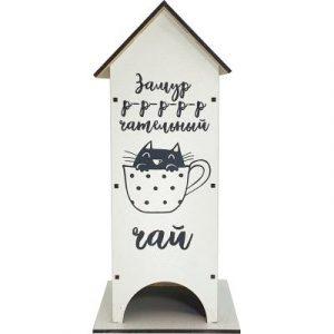 Чайный домик Grifeldecor Котенок / BZ181-10W217