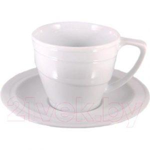 Чашка с блюдцем BergHOFF 1690193