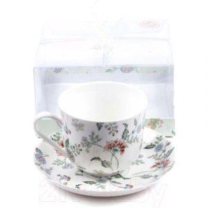 Чашка с блюдцем Best Home Porcelain Tiffany / M1270606
