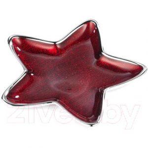Фруктовница Greggio Dogale Stella Alya Rosso Red Glitter Star / 51368046