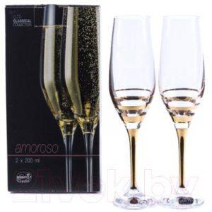 Набор бокалов Bohemia Crystal Amoroso 40651/M8431/200