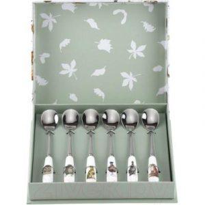 Набор чайных ложек Portmeirion Wrendale Designs Лесные жители / WN1101-XG