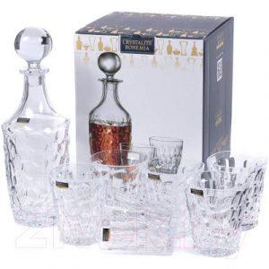 Набор для виски Bohemia Crystalite Marble 2K9/99999/9/99W24/399-762