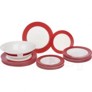 Набор тарелок Luminarc Alto rubis N8520