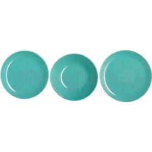 Набор тарелок Luminarc Arty Soft Blue L3650