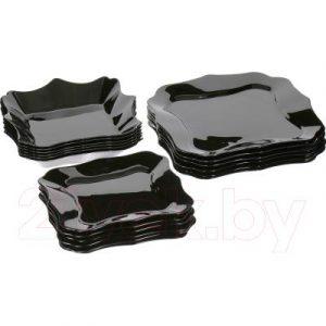 Набор тарелок Luminarc Authentic Black E5251