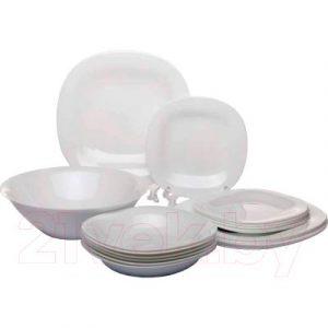 Набор тарелок Luminarc Carine white N2185