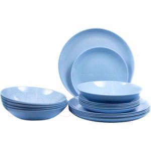 Набор тарелок Luminarc Diwali Light Blue P2962