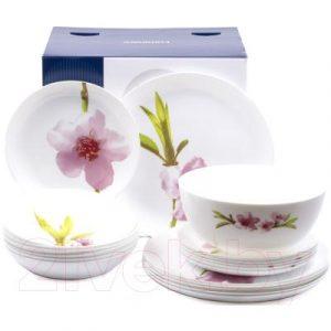 Набор тарелок Luminarc Diwali water color / P7080