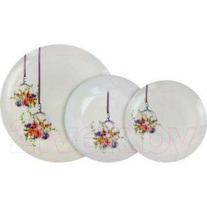Набор тарелок Luminarc Flore N0647