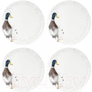 Набор тарелок Portmeirion Wrendale Designs Селезень / WNKC4077-XB
