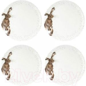Набор тарелок Portmeirion Wrendale Designs Заяц / WNOU4077-XB