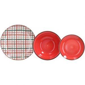 Набор тарелок Tognana Louise/Red tavern / LS170189270