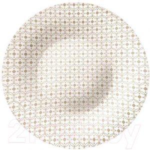 Тарелка столовая глубокая Bormioli Rocco Керамик 430132-932