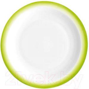 Тарелка закусочная (десертная) Bormioli Rocco Перформа Фреш Грин 405812-422